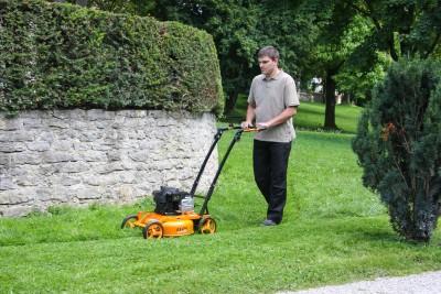AS Motor Mulch-Rasenmäher AS 420 4T Rasenmäher bei Julmi in Vlotho kaufen