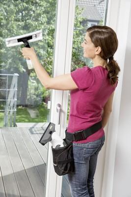 Hüfttasche für Fenstersauger
